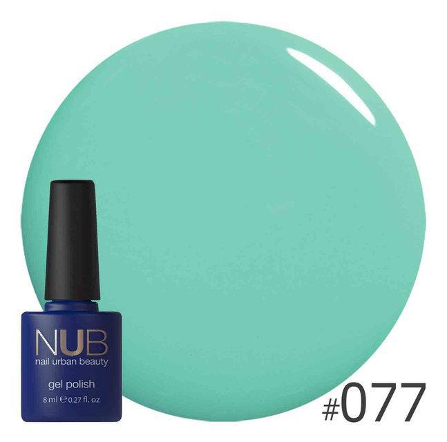 Гель-лак NUB Young Green 077