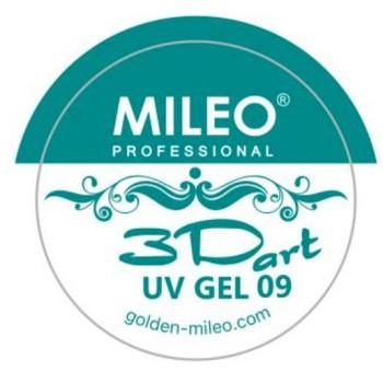 3 d гель для лепки Mileo №09