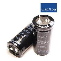 3300mkf - 100v  LP 30*41  capXon 85°C конденсатор електролітичний