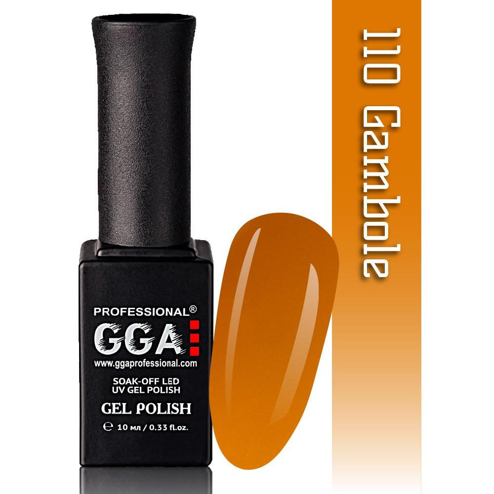 Гель-лак GGA Professional №110 Gambole 10 мл.