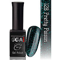 Гель-лак GGA Professional №128 PRETTY POISON10 мл.