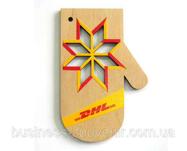 Новогодние деревянные игрушки