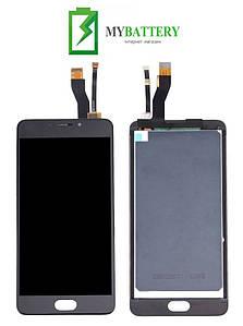 Дисплей (LCD) Meizu M5 Note (M621) с сенсором черный