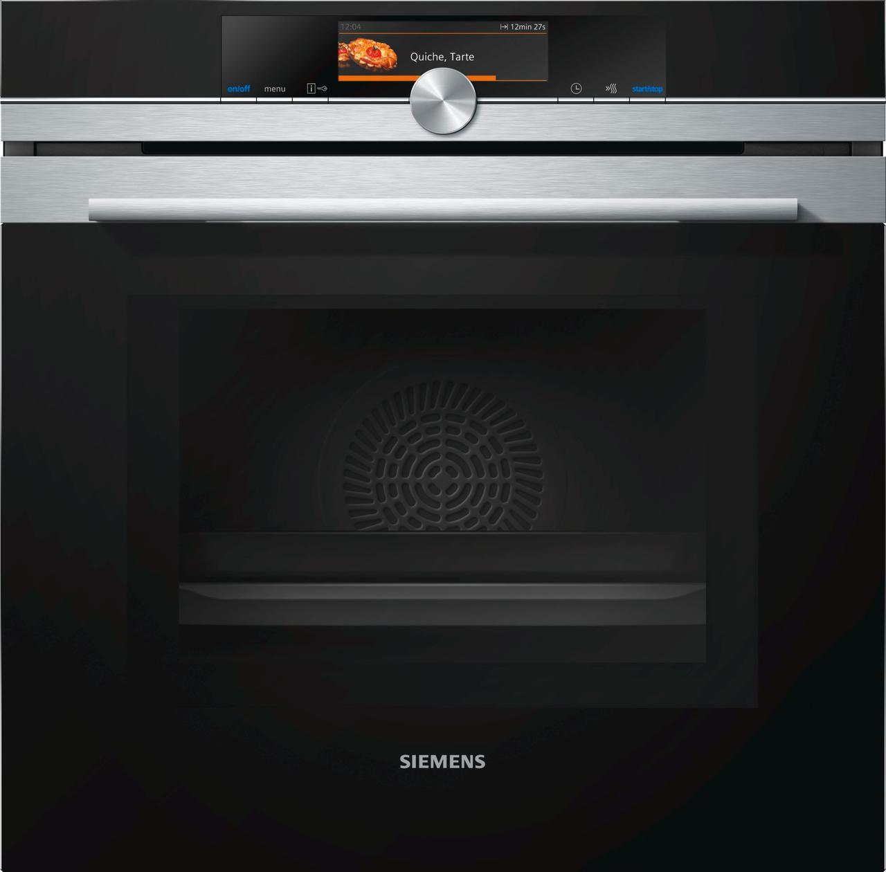 """Духовой шкаф с функцией  """"микроволновая печь"""" Siemens HM638GRS1"""