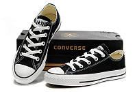 Кеды Converse ALL STAR  36-45 размеры, Вьетнам, чёрно-белые