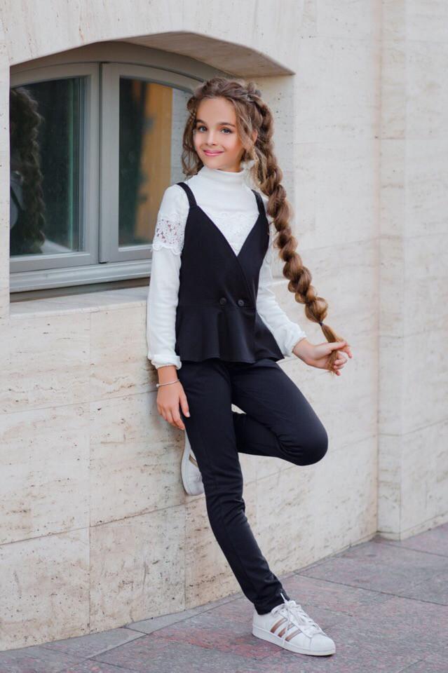 Костюм LiLove 382-1 140 черный