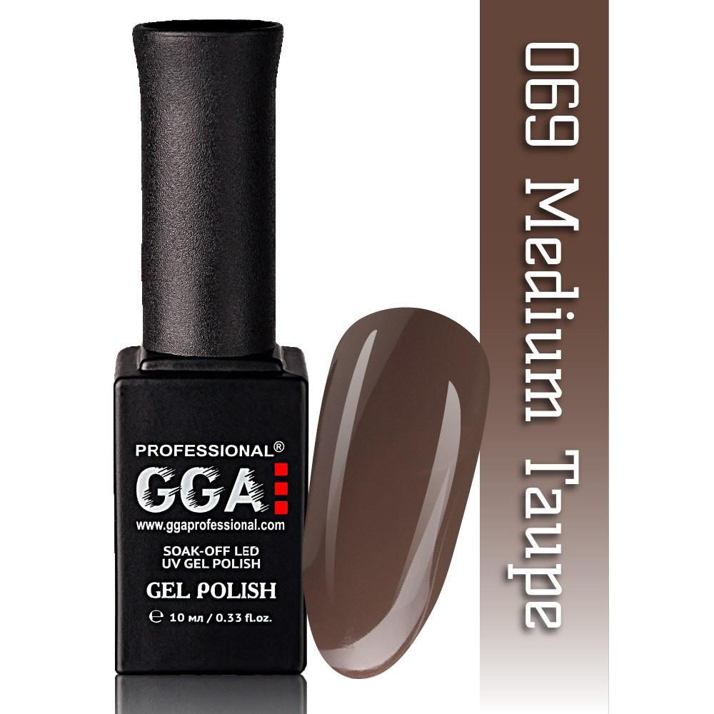 Гель-лак GGA Professional №69  Medium Taupe  10 мл.
