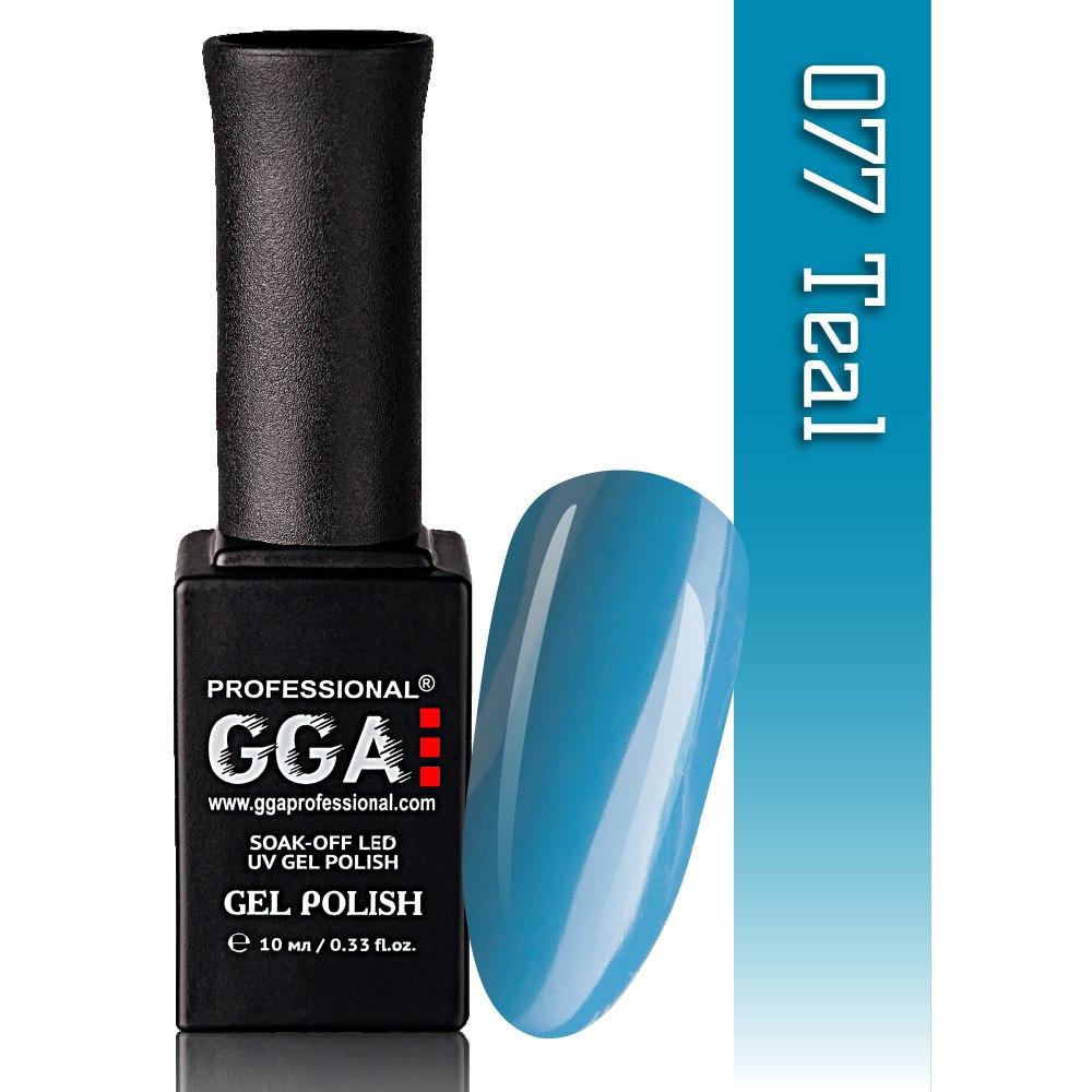 Гель-лак GGA Professional №77 Teal  10 мл.