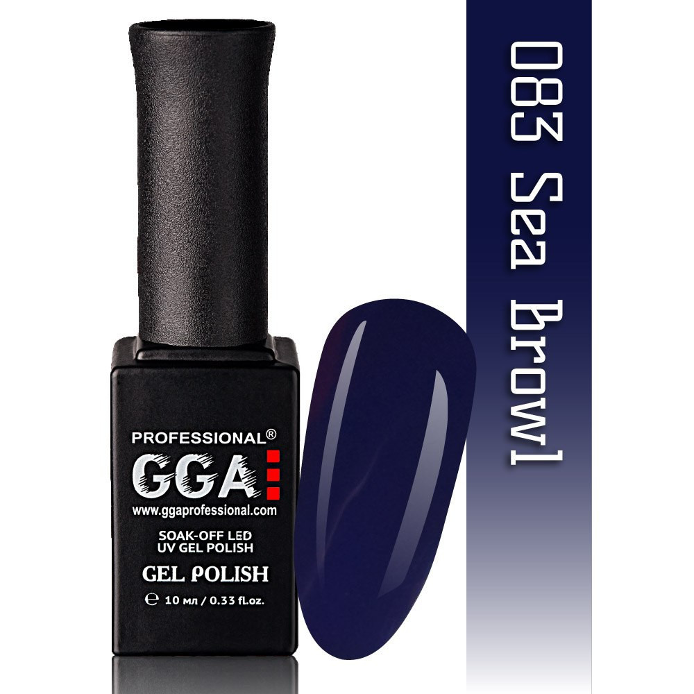 Гель-лак GGA Professional №83 Sea Browl   10 мл.