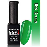 Гель-лак GGA Professional №86 Green  10 мл.