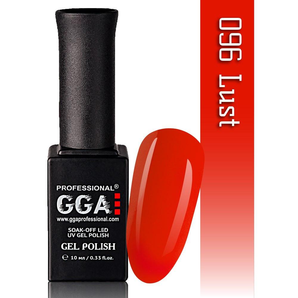 Гель-лак GGA Professional №96  Lust   10 мл.