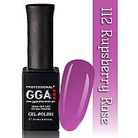 Гель-лак GGA Professional №112 Rupsberry Roze 10 мл.