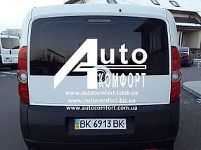 Заднее стекло (ляда) без э. о. с отверстием на Opel Combo D (2011-) (Опель Комбо Д 2011-)