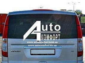 Заднее стекло (ляда) на Mercedes-Benz Vito 04- без э. о. (Мерседес Вито 04-)