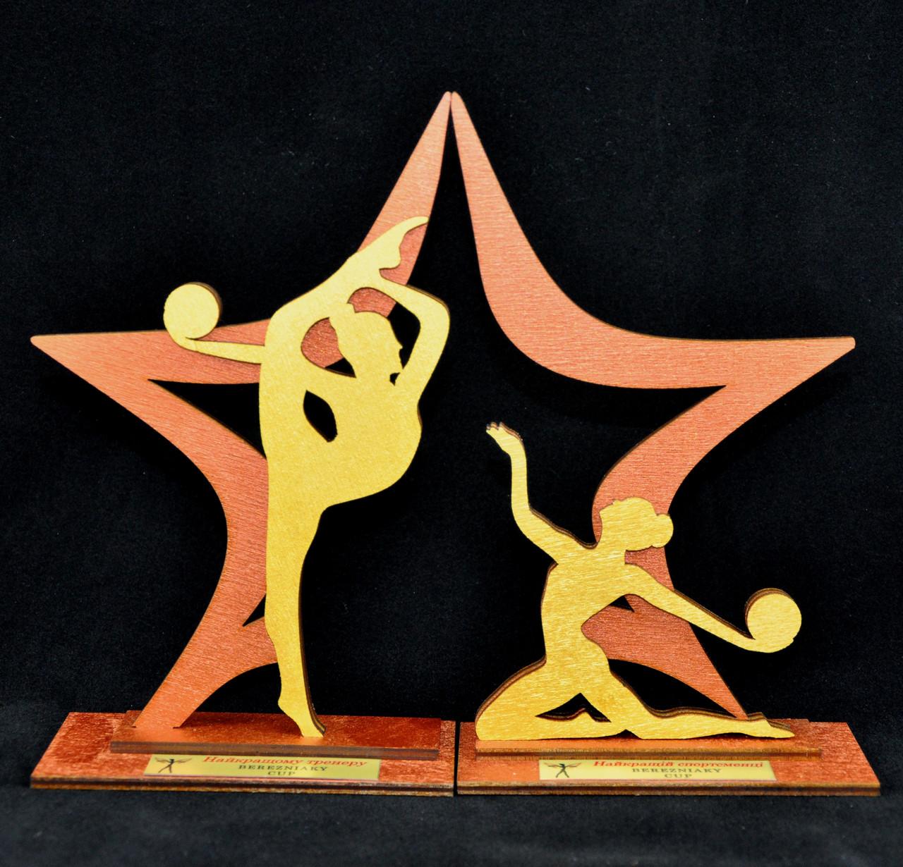 """Награда """"Звезда гимнастики"""""""