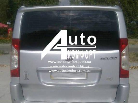 Заднее стекло (ляда) с отверстием и Э. О. на Fiat Scudo, Peugeot Expert, Citroen Jumpy 07-, фото 2