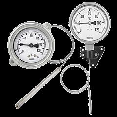 Термометры и градусники (капиллярные, биметаллические)