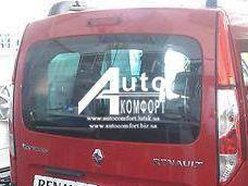 Заднее стекло (ляда) с электрообогревом и отверстием на автомобиль Renault Kangoo 08- (Рено Кангу)