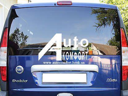 Заднее стекло (ляда) с электрообогревом на Fiat Doblo 2000- (Фиат Добло 2000-)