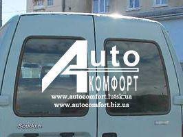 Заднее стекло (распашонка левая) Fiat Scudo Peugeot Expert Citroen Jumpy 96-