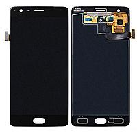 Дисплей (экран) для OnePlus 3/3T + тачскрин, черный, оригинал