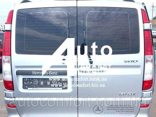 Заднее стекло (распашонка левая) на Mercedes-Benz Vito 04- с электрообогревом (Мерседес Вито 04-), фото 2