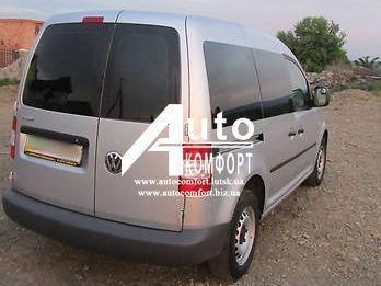 Заднее стекло (распашонка правая) без электрообогрева на автомобиль VW Caddy 04- (Фольксваген Кадди 04-)