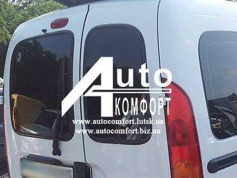 Заднее стекло (распашонка правая) без электрообогрева на автомобиль Renault Kangoo 96-08 (Рено Кангу), фото 2