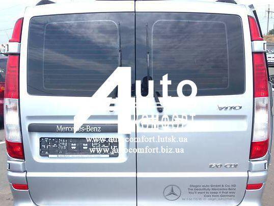 Заднее стекло (распашонка правая) на Mercedes-Benz Vito 04- с электрообогревом (Мерседес Вито 04-), фото 2