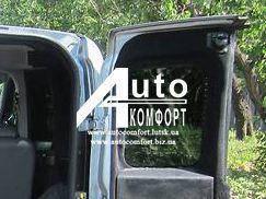 Заднее стекло (распашонка правая) с электрообогревом Fiat Doblo 2010- (Фиат Добло 2010-), фото 2