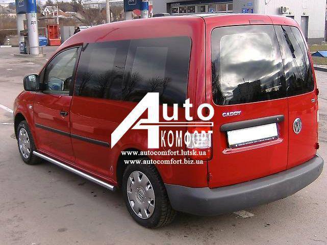 Задний салон, левое окно (внахлёст) на автомобиль VW Caddy 04- (Фольксваген Кадди 04-)