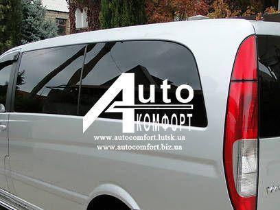 Задний салон, левое стекло, средняя база (long) на автомобиль Mercedes-Benz Vito 04- (Мерседес Вито 04-), фото 2