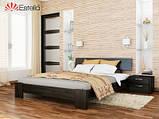 Ліжко півтораспальне в спальню з натуральної деревини буку Титан Естелла, фото 10