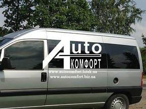 Передний салон, левое окно длинная база на Fiat Scudo, Peugeot Expert, Citroen Jumpy 96-