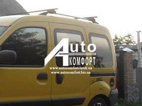 Передний салон, левое окно на автомобиль Renault Kangoo 96-08 (Рено Кангу)