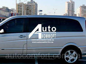 Передний салон, левое стекло на автомобиль Mercedes-Benz Vito 04- (Мерседес Вито 04-)