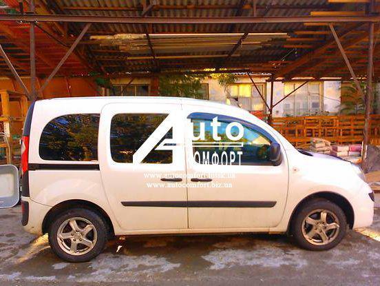 Передній салон, праве вікно на автомобіль Renault Kangoo (08-), Mercedes-Benz Citan W415 (12-)
