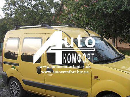 Передний салон, правое окно на автомобиль Renault Kangoo 96-08 (Рено Кангу)
