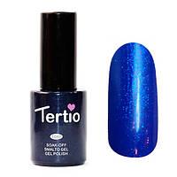 Гель-лак Tertio Синий с блестками 145 10 мл.