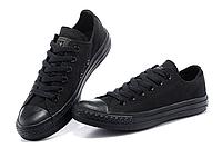Кеды Converse ALL STAR 36-45 размеры, Вьетнам, чёрные, фото 1