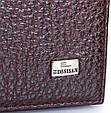 Жіночий шкіряний гаманець Desisan темно-коричневий, фото 7
