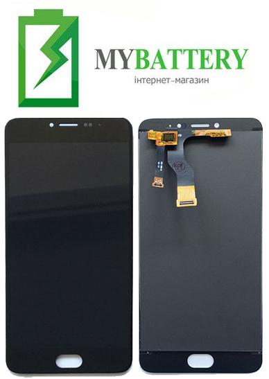 Дисплей (LCD) Meizu M3 Note (M681H/M681Q/M681C) с сенсором черный