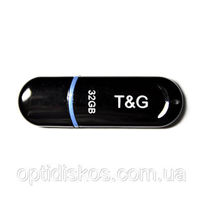 Флешка T&G 012 Jet series 32GB, черная