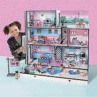 Игровой меганабор с куклами L.O.L. -  МОДНЫЙ ОСОБНЯК (с аксессуарами, эксклюзивная семья L.O.L. в комплекте), фото 1