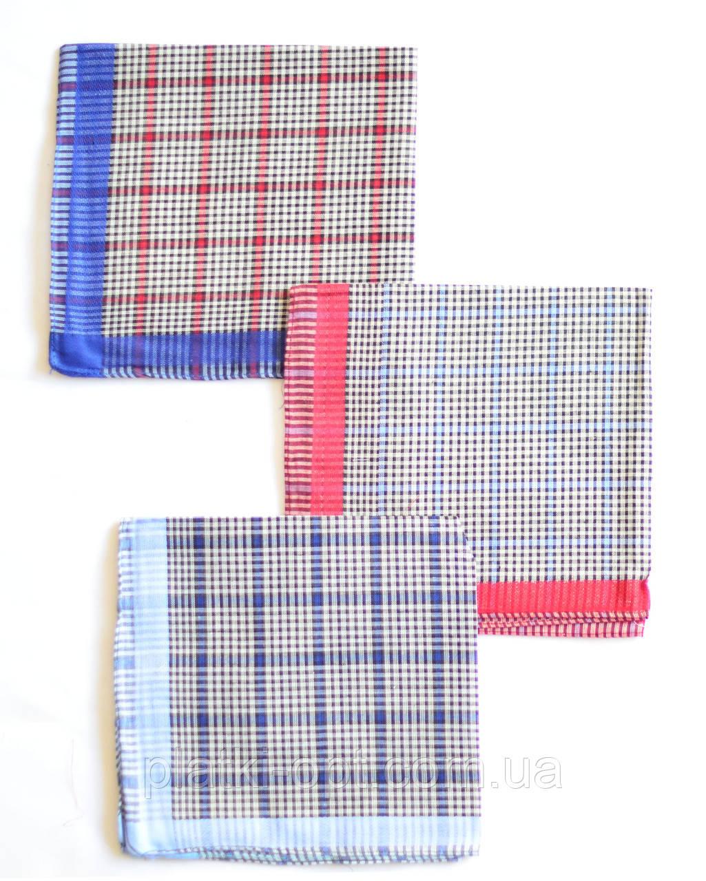 Мужской носовой платок (ситец+полиэстер)