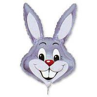 """Фольговані кульки міні-фігури """"Кролик сірий"""""""