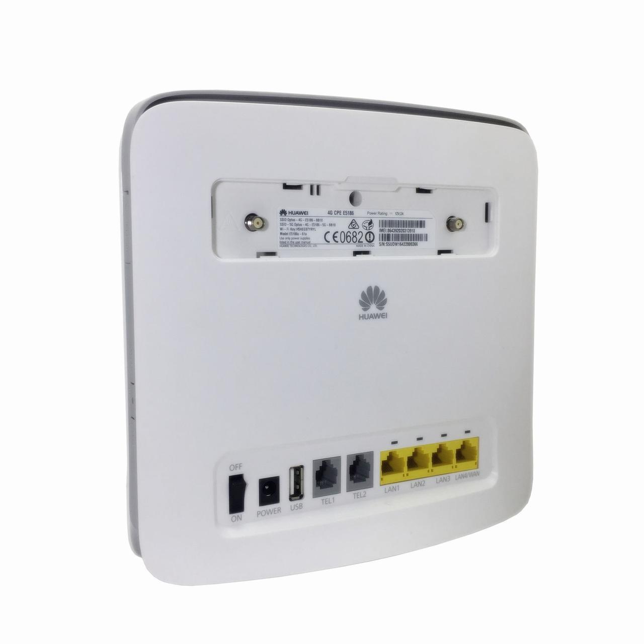 3G / 4G WiFi роутер Huawei E5186S-61A - Bigl ua