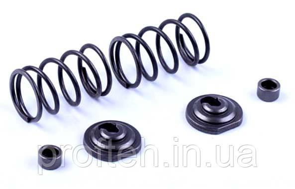 Клапанный механизм комплект (пружины, сухари, тепл.компенсаторы на 2 клапана) - 168F