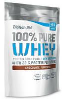 BioTech - 100% Pure Whey (454 гр) [chocolate/шоколад] (п 28 г)