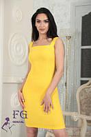 Приталенное платье на бретелях 0130/04, фото 1